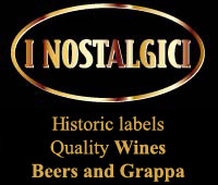 Wines, Beers and Grappa with historic labels